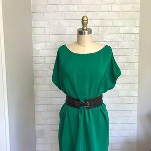 Joie • Silk Shift Popover Dress
